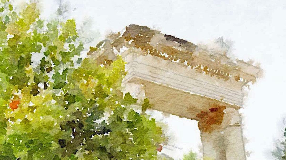 Ephesus-Ruins by Cindy Dean