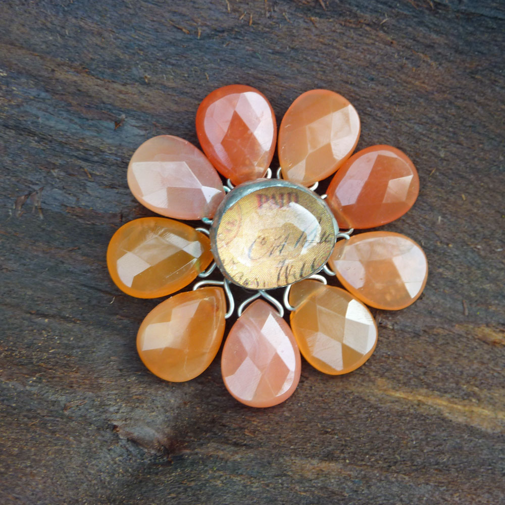 Flower Carnelian by Cindy Dean