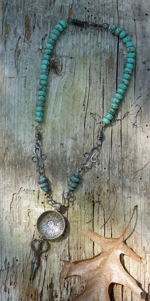 Goddess Spoon Necklace by Cindy Dean